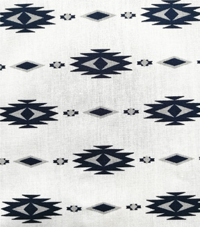 Cotton Shirting Fabric 57\u0022-Aztec