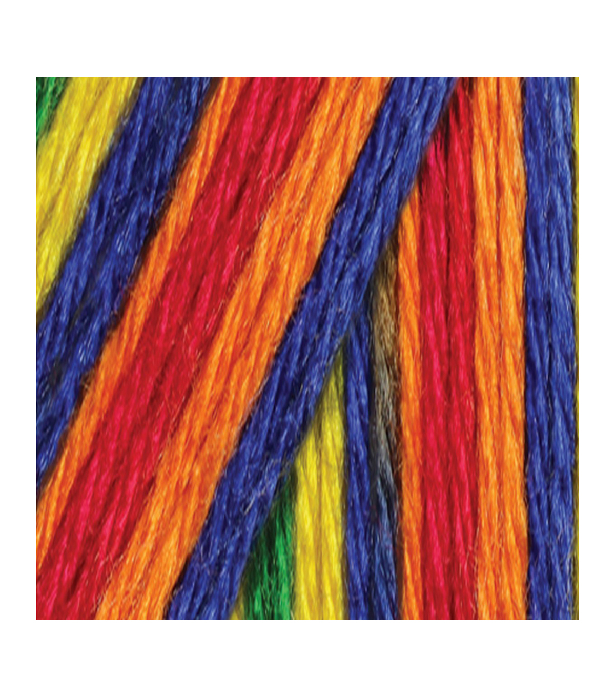 Caron Simply Soft Paints Yarn, Crayon Vg