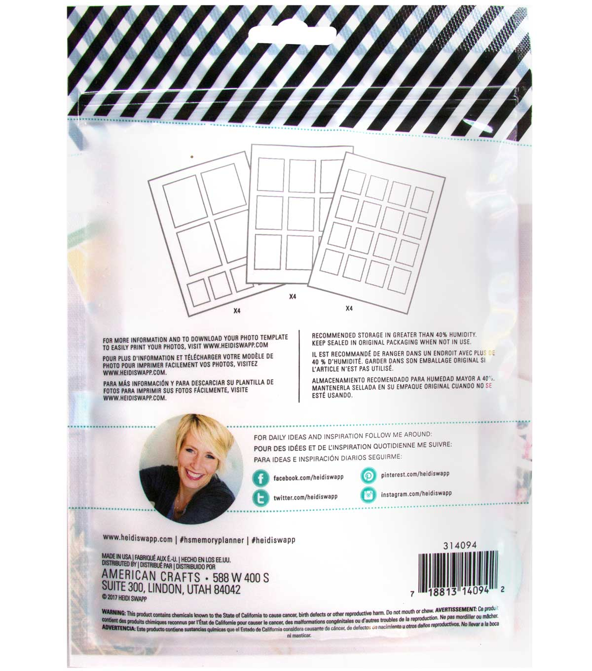 Heidi Swapp Fresh Start Photo Sticker Sheets-Personal