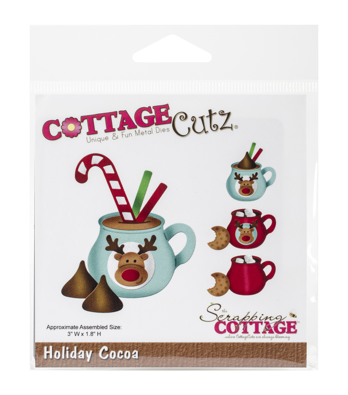 CottageCutz Dies-Holiday Cocoa