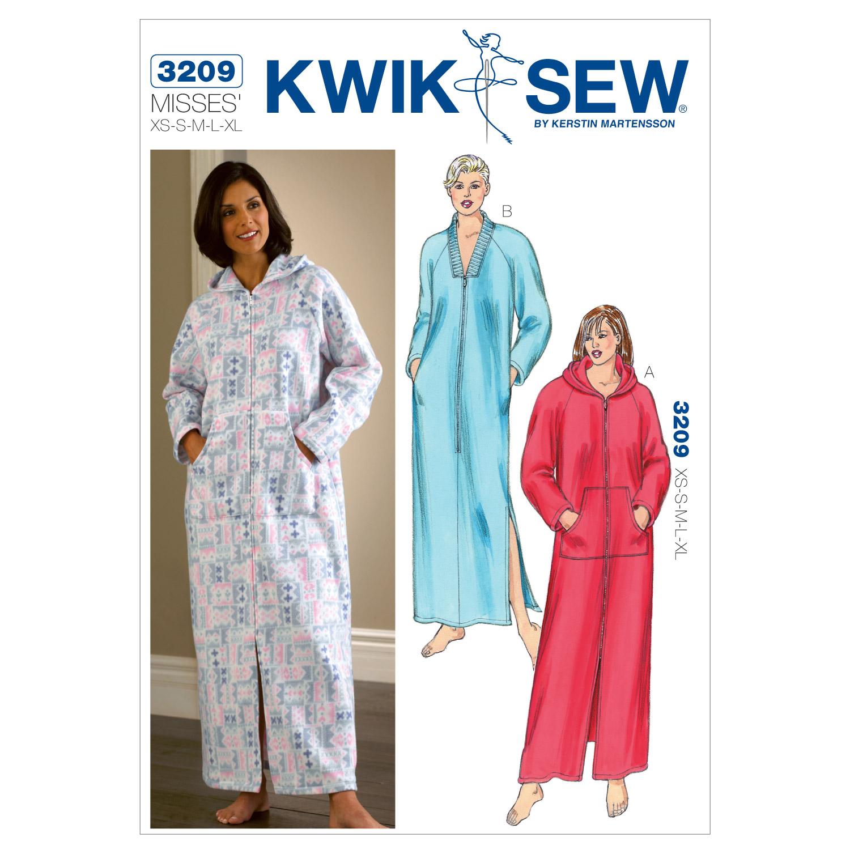 Robes XS S M L XL Pattern
