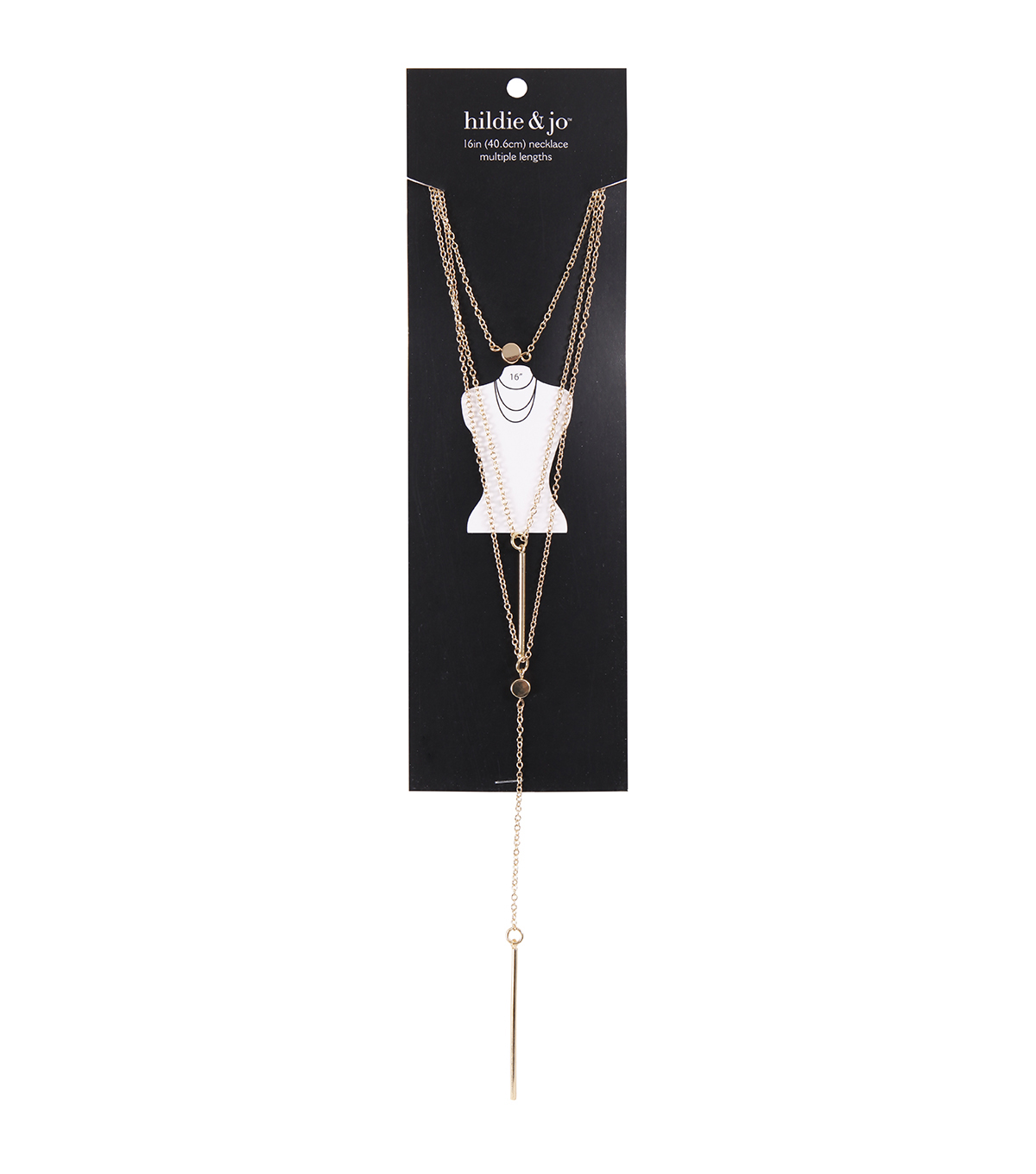 hildie & jo Minimalist Long Style Necklace-Gold
