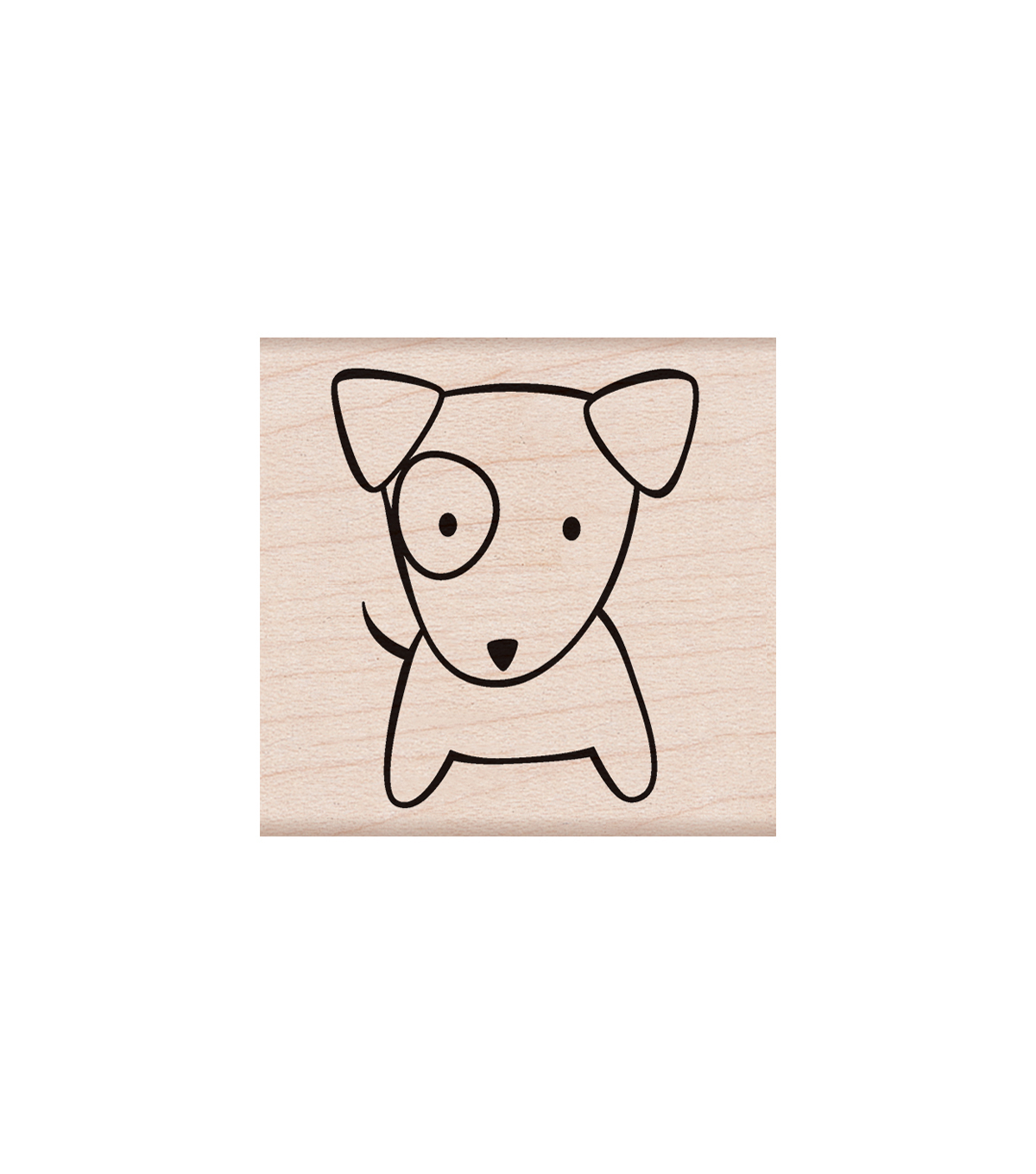 Hero Arts Wood Mounted Rubber Stamp-Bark