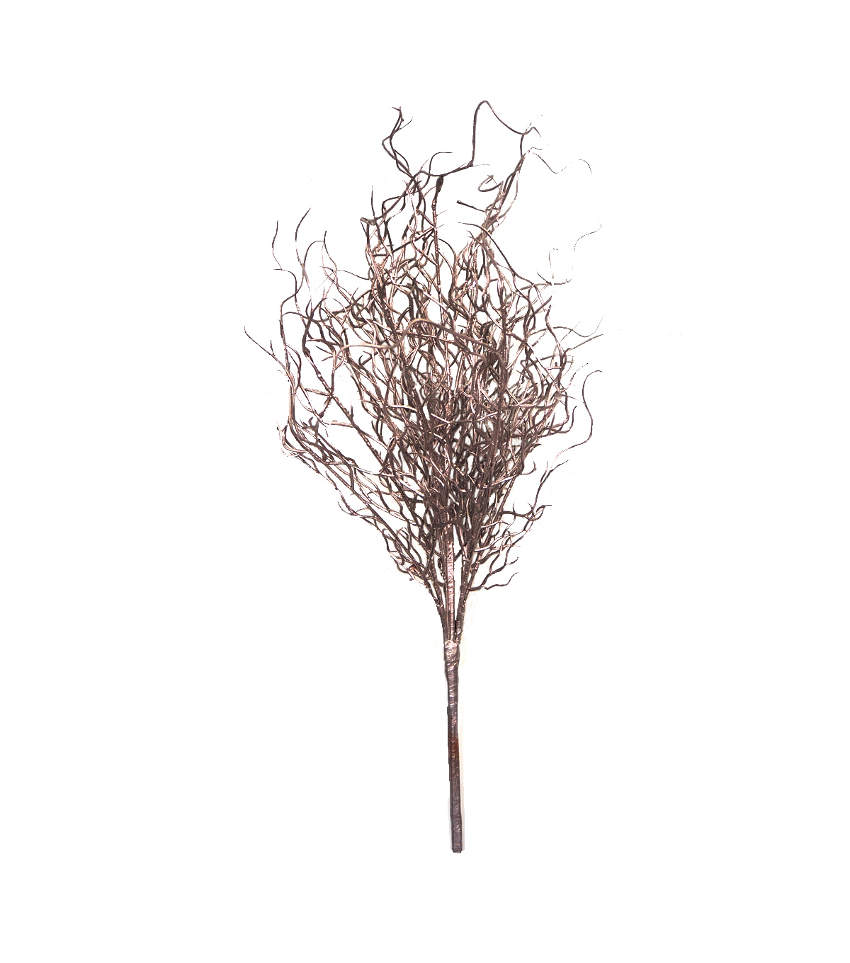 Blooming Holiday Christmas 24\u0027\u0027 Twig Bush-Rose Gold