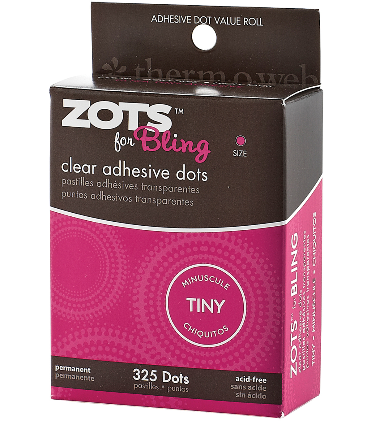Zots For Tiny Bling Clear Adhesive Dots | JOANN