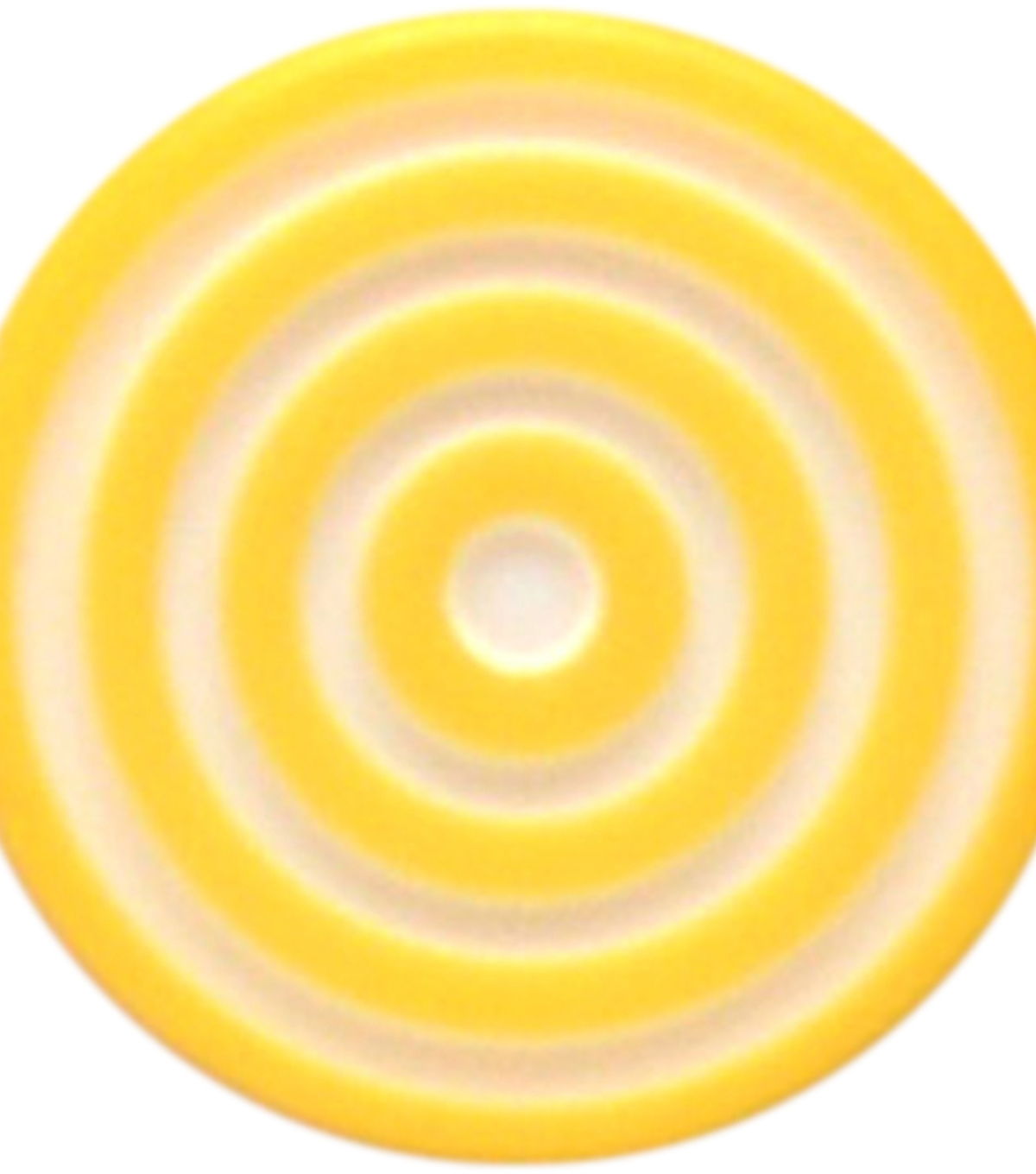 Queen & Co. 12 pk Lollies Self-Adhesive Embellishments-Yellow