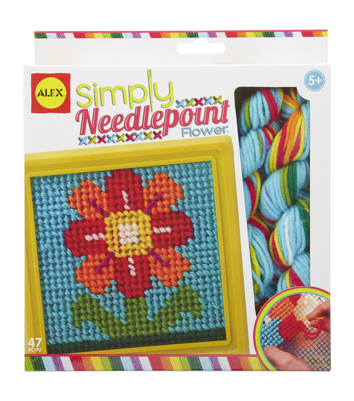 Simply Needlepoint Kit-Flower