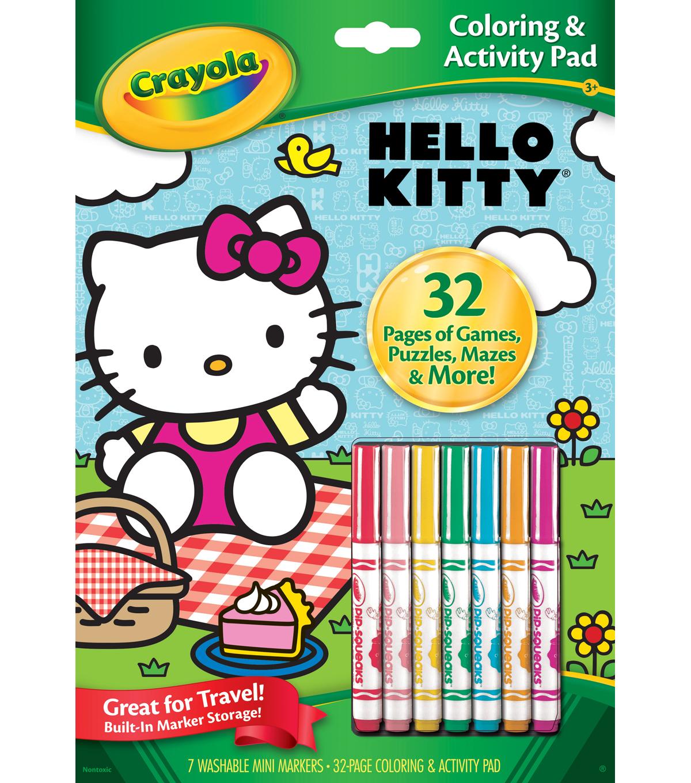 Crayola?? Hello Kitty Coloring & Activity Pad | JOANN