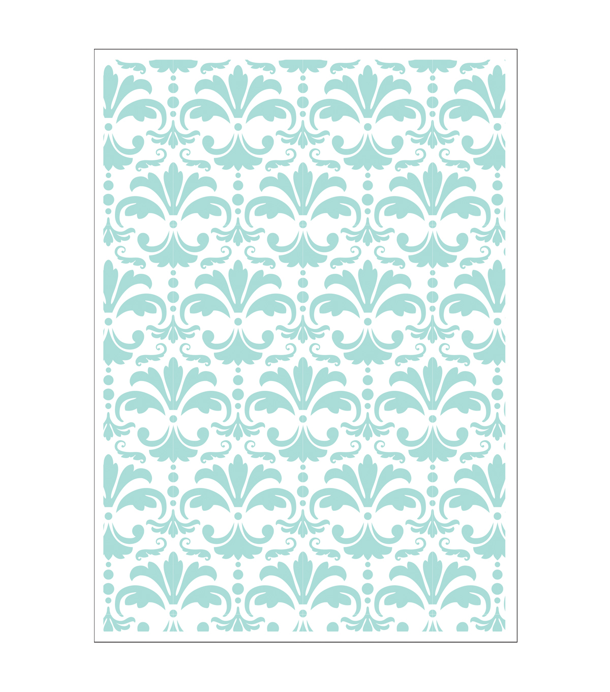 Park Lane 5\u0027\u0027x7\u0027\u0027 Embossing Folder-Damask