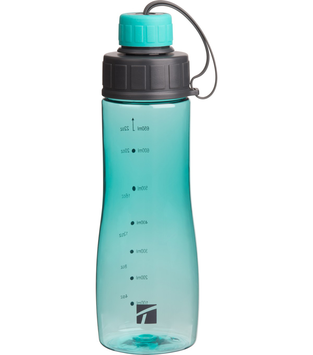 Trudeau 22 oz. Reade Bottle-Aqua