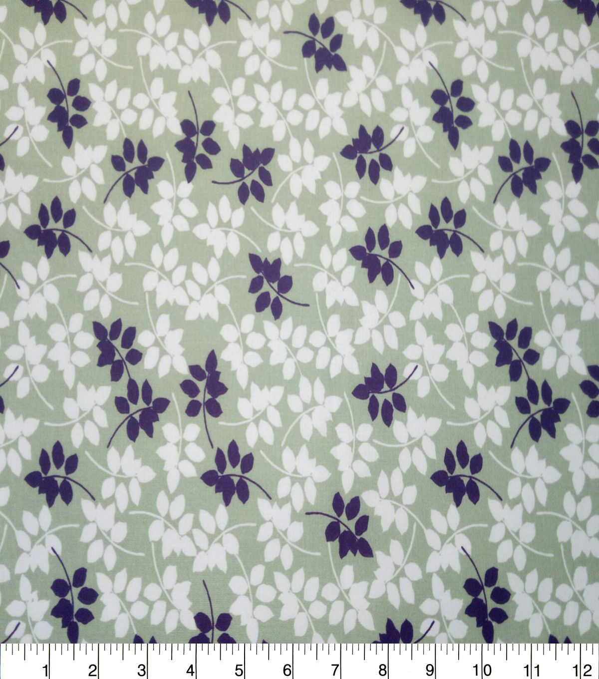 Quilter\u0027s Showcase Cotton Fabric-Sage Vine Leaves