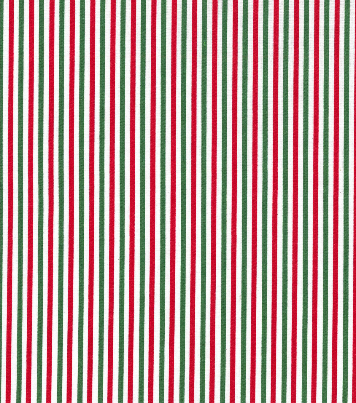 Christmas Cotton Fabric 43\u0022-Red & Green Holiday Stripes