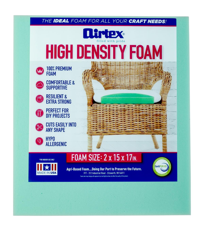 Airtex High Density Chair Pad 2\u0022x15\u0022x17\u0022