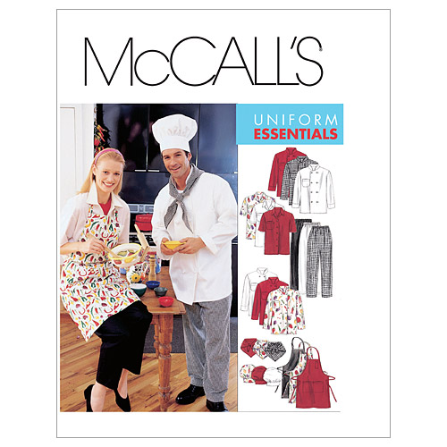 McCall\u0027s Patterns M2233 Adult Uniforms-Size L