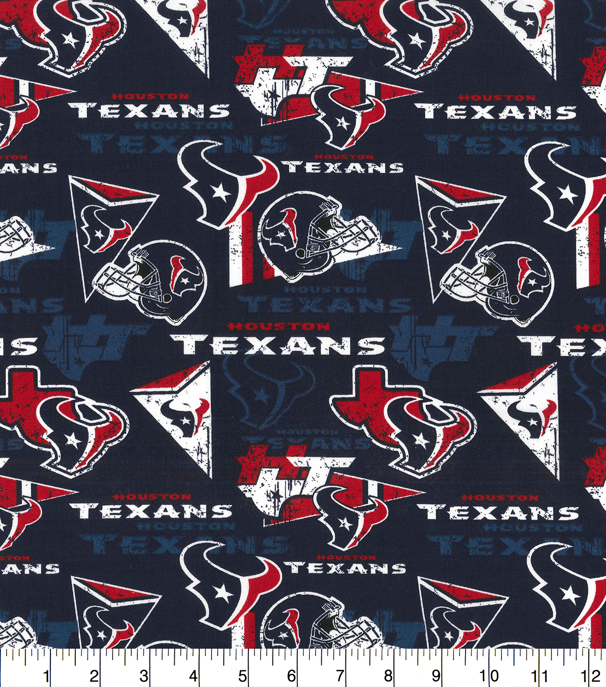 Houston Texans Football Fabric Personalized Pillow