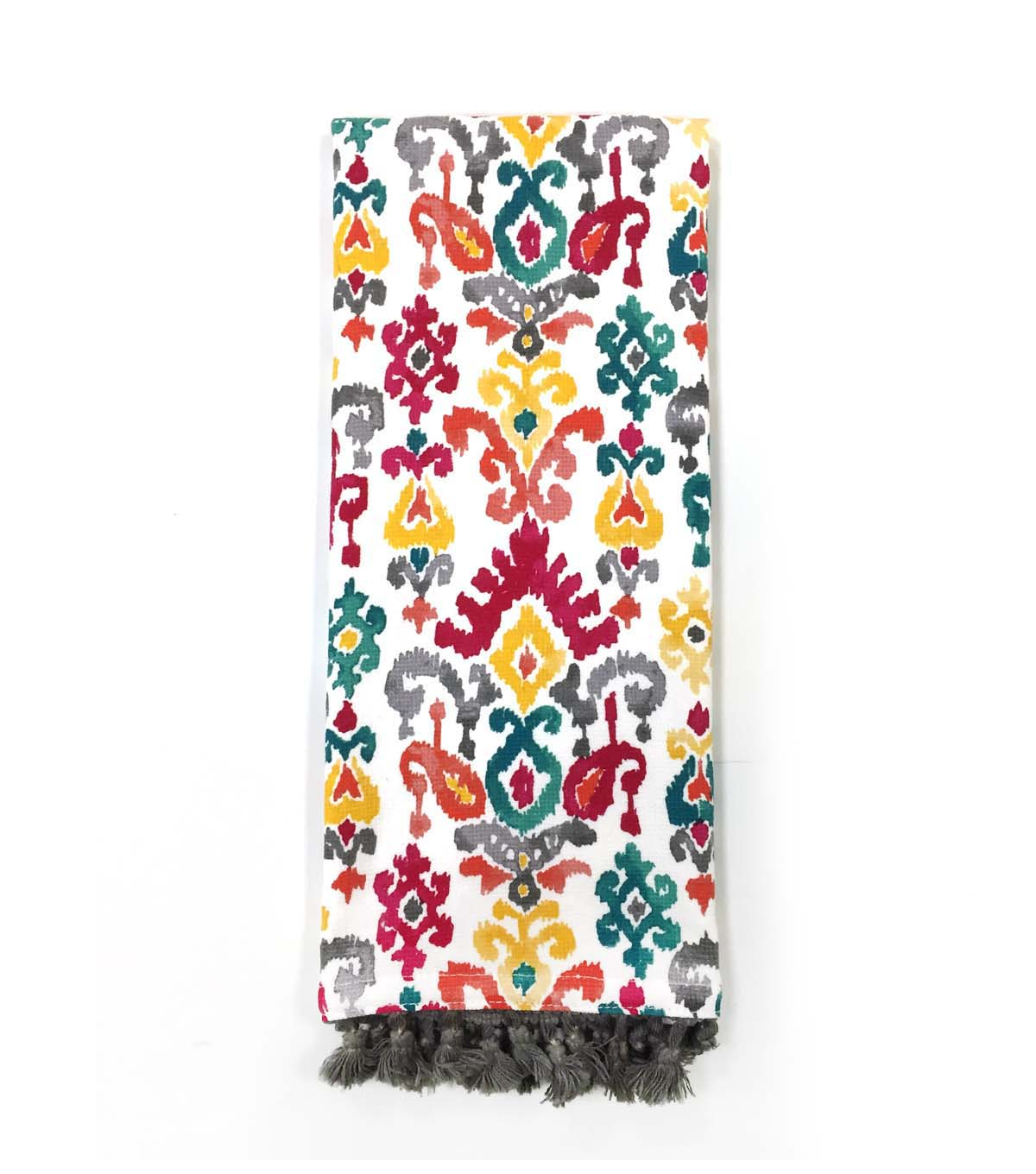 Hudson 43 Global Journey 16\u0027\u0027x28\u0027\u0027 French Terry Towel-Multicolor Ikat