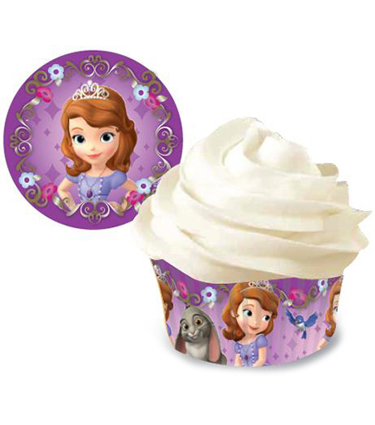 Wilton Standard Baking Cups-Sofia The First 50/Pkg