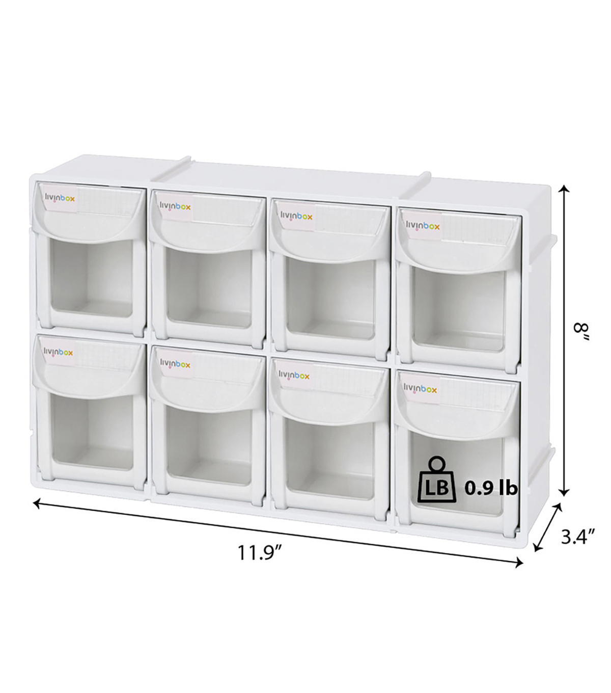 Livinbox Tip Out Bin Storage Box