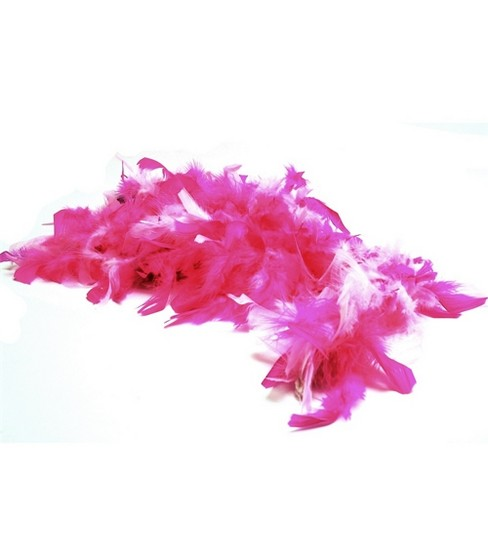 Leight Weight Chandelle Feather Boa-Pink