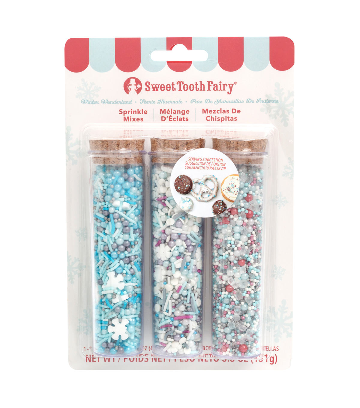 The Sweet Tooth Fairy Christmas 3 pk Candy Mixes-Winter Wonderland