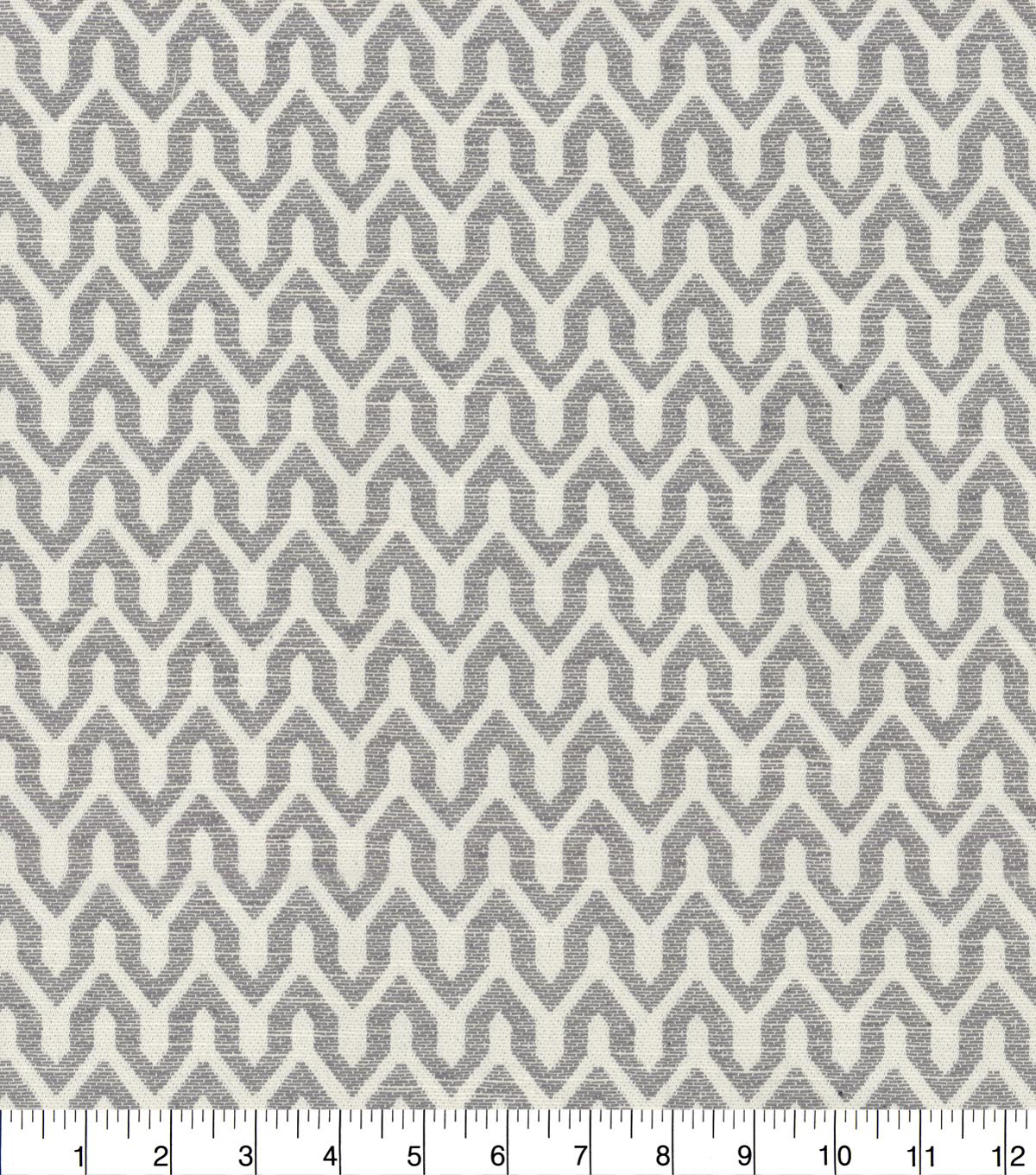 Home Decor 8\u0022x8\u0022 Fabric Swatch-Waverly New Heights Shale