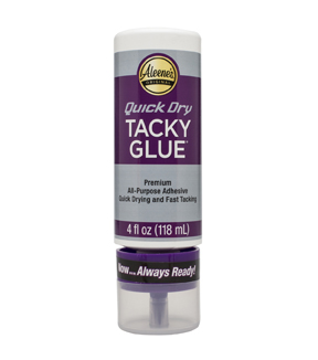 Aleene\u0027s Always Ready Quick Dry \u0022Tacky\u0022 Glue-4oz