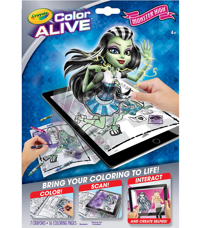 Crayola Color Alive-Monster High | JOANN