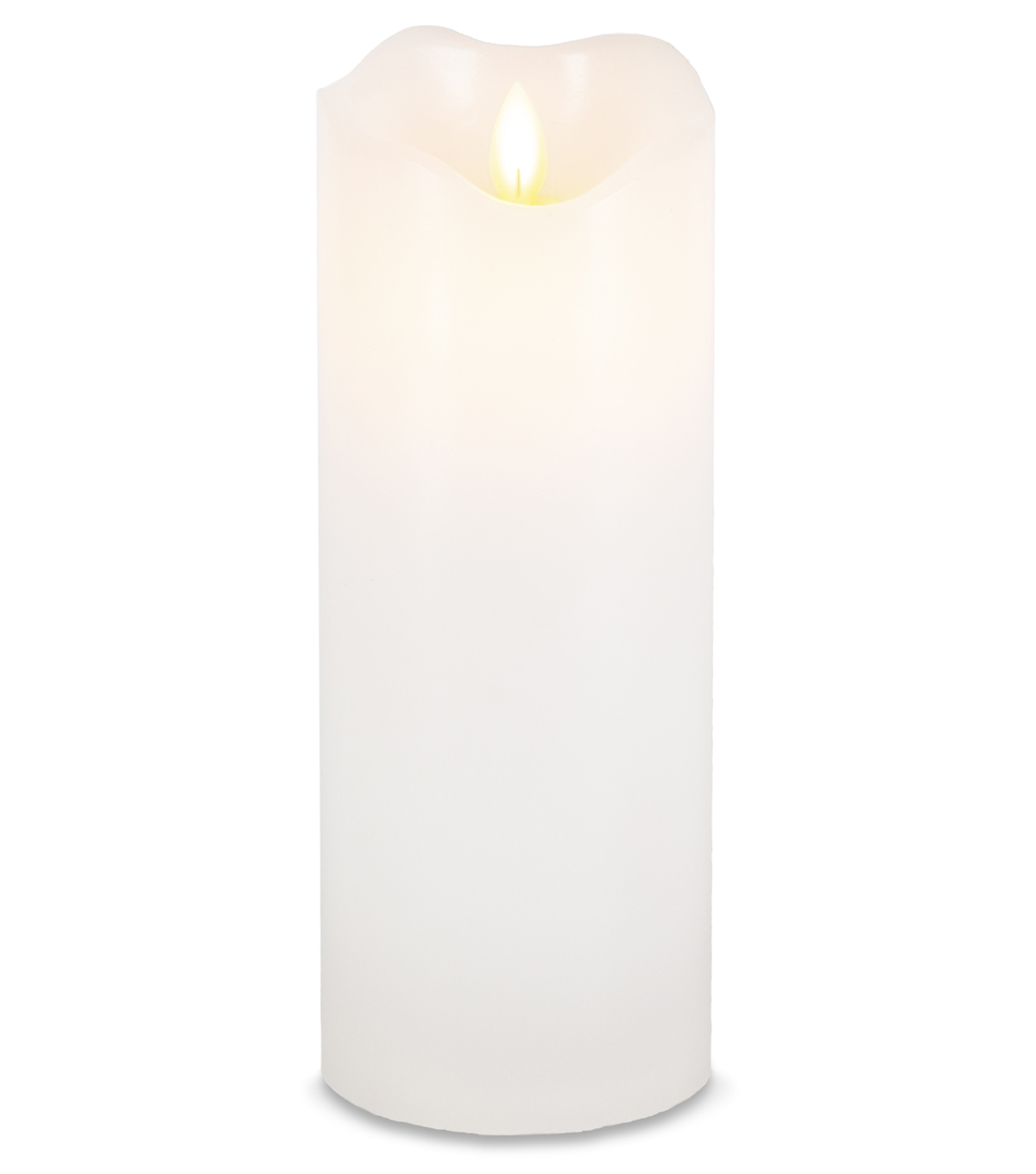 Hudson 43 3\u0027\u0027x8\u0027\u0027 Motion Flame LED Candle-White