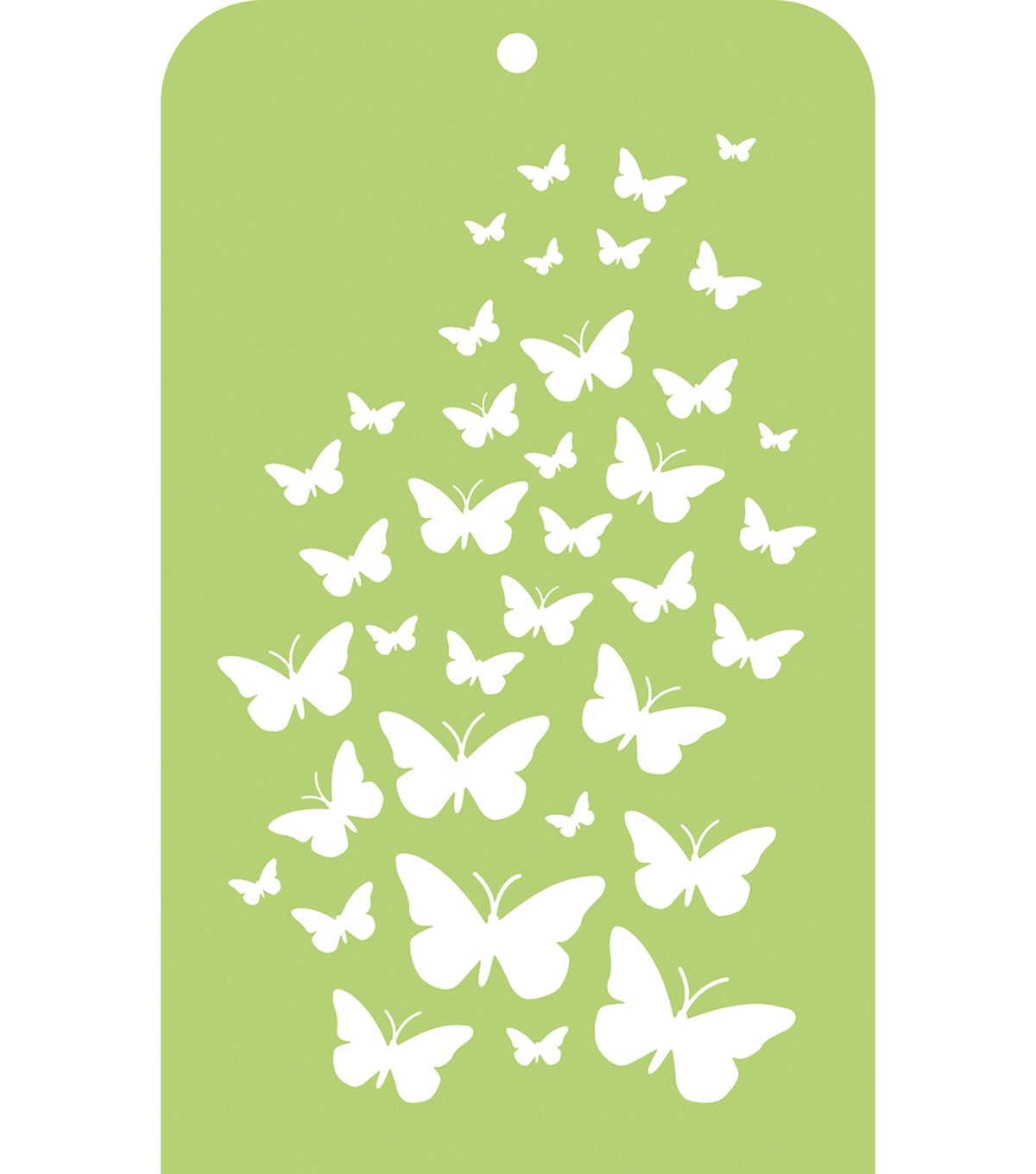 Kaisercraft Mini Designer Templates 3.5\u0022X5.7\u0022-Butterfly Skies