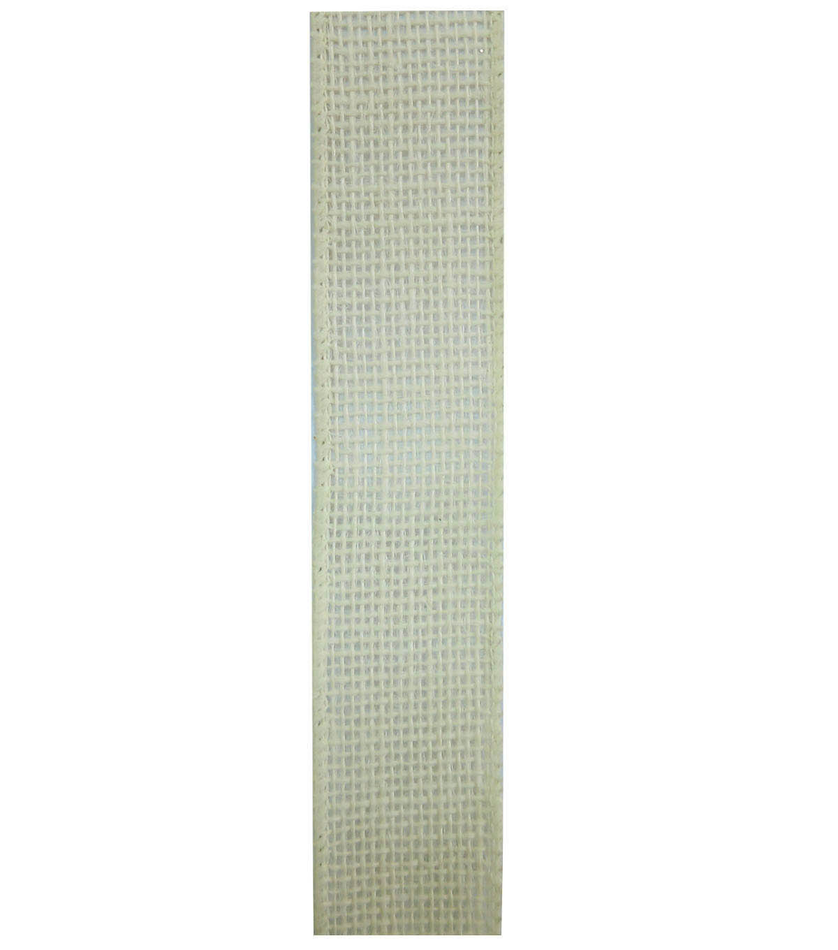Decorative Ribbon 1.5\u0022 Solid Burlap Ribbon-Ivory