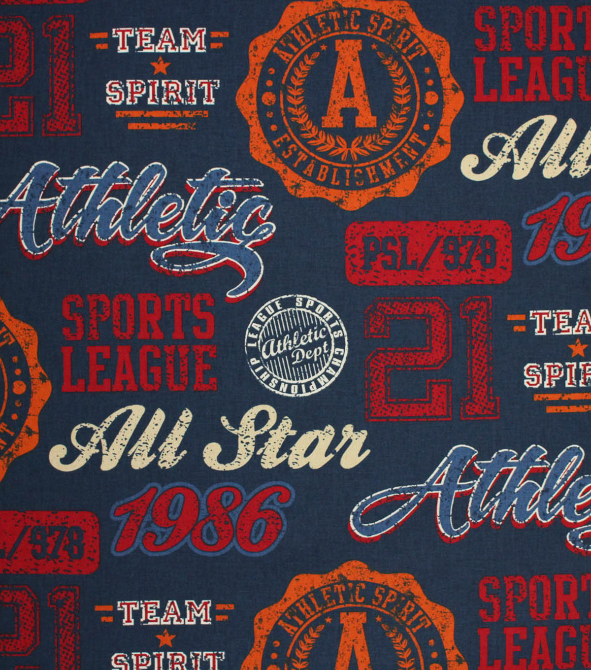 Lightweight Decor Fabric - Tailgate - Multi