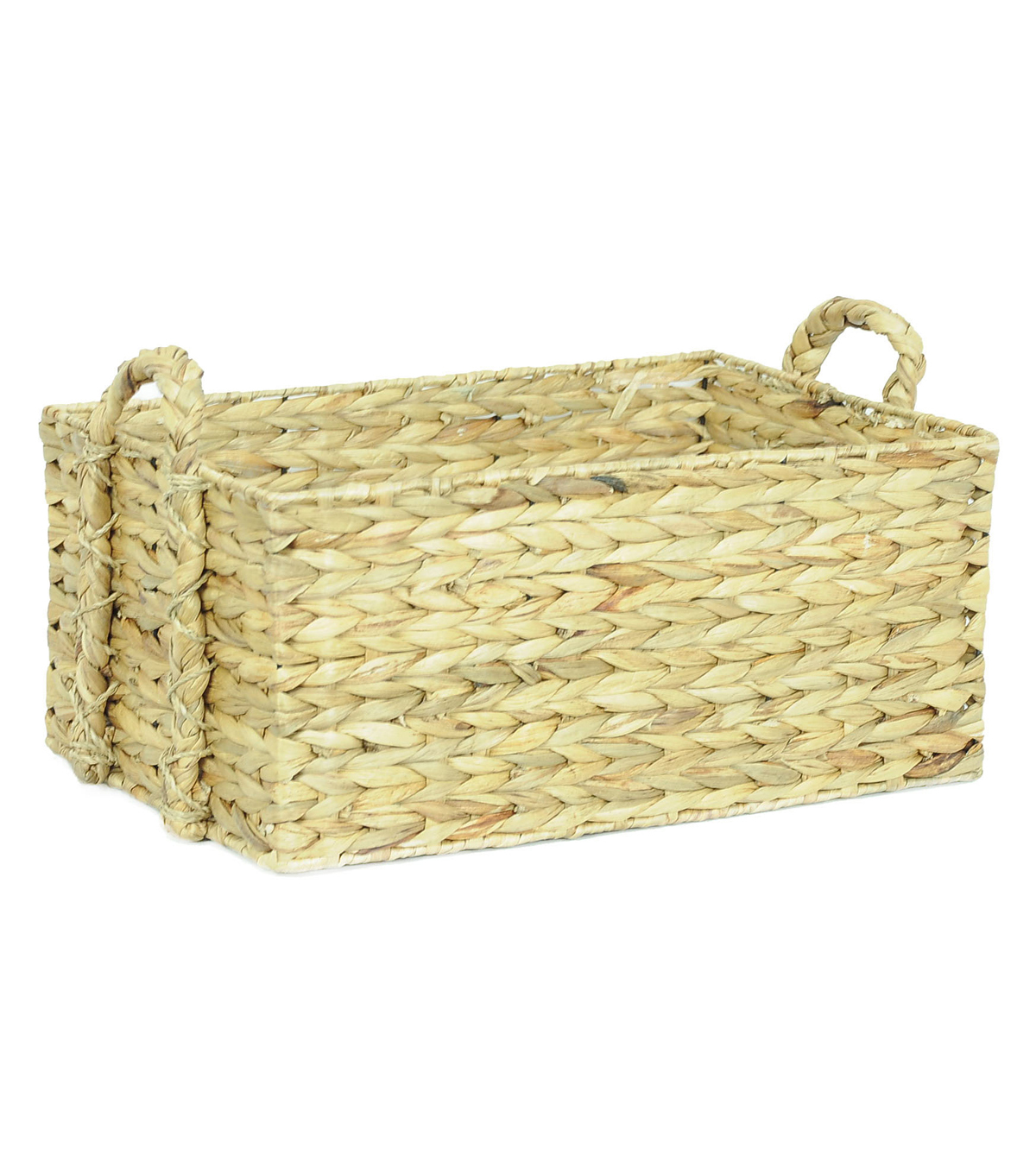 Organizing Essentials Cornhusk Woven Tray with Handles