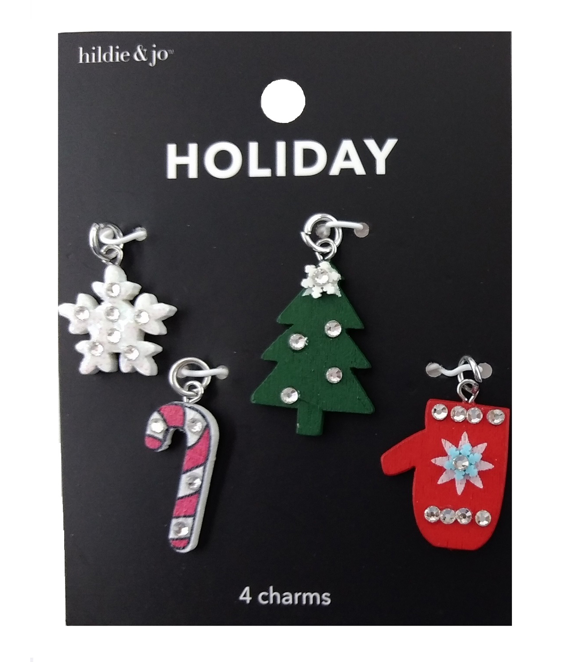 hildie & jo Holiday Charms-Wood