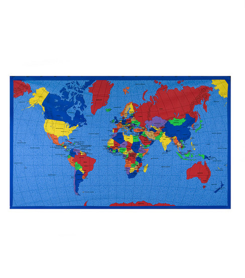 Joann stores novelty cotton fabric world map panel joann novelty cotton fabric world map panel gumiabroncs Gallery
