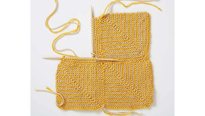 Knit A Mitered Square, , hi-res