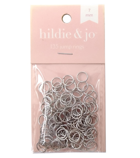 Blue Moon Findings Jump Ring Metal 7mm Silver