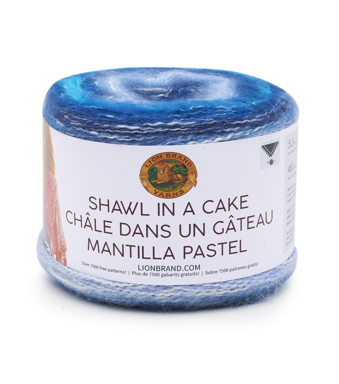 Lion Brand Shawl in a Cake Yarn   JOANN
