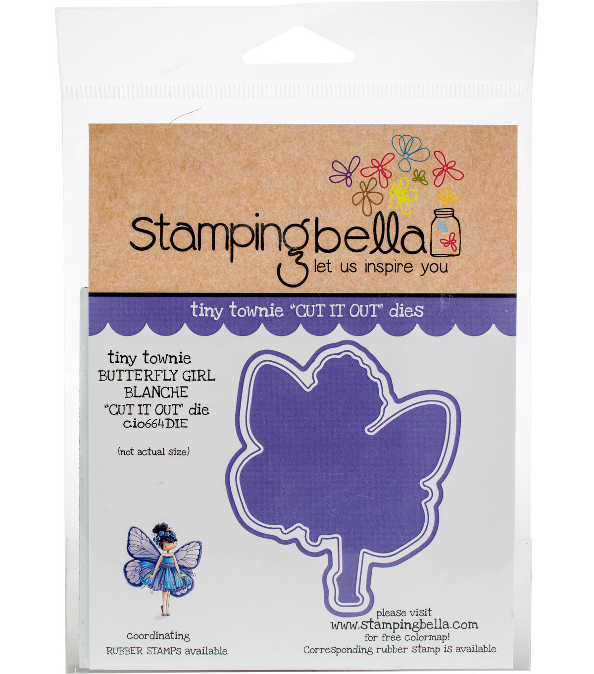 Stamping Bella Cut It Out Dies-Blanche The Butterfly