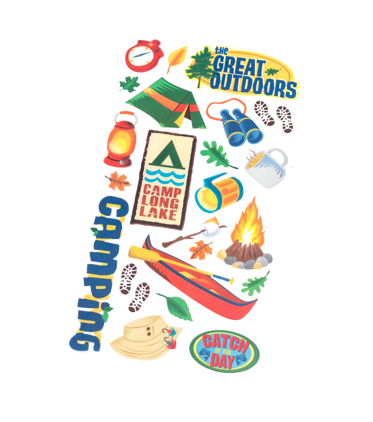 American Crafts Stickers-The Great Outdoors