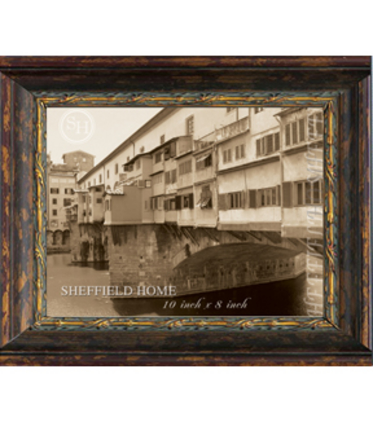 Antique Tabletop Frame 8X10-Bronze