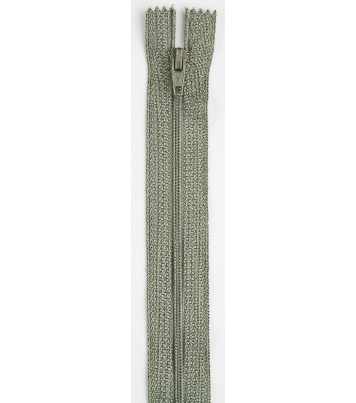 Coats & Clark All-Purpose Plastic Zipper 14\u0022 , Green Linen
