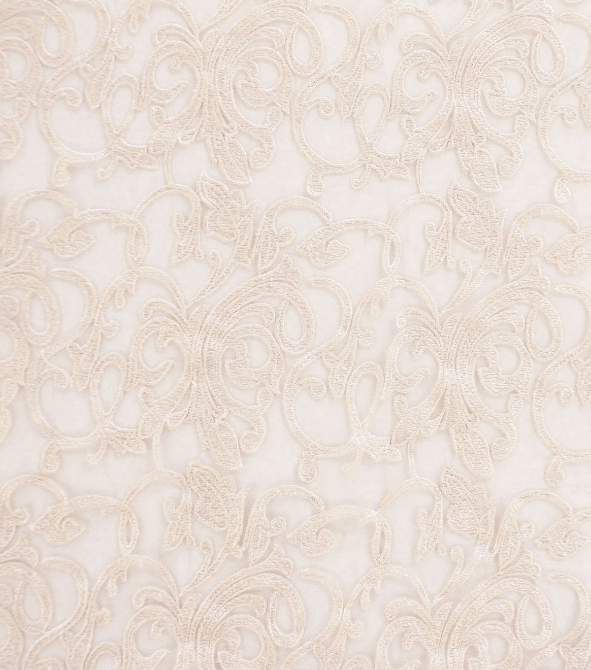 Tapestry Fabric 52\u0022-Embroidery Champagne