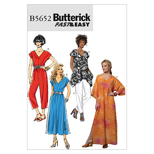Butterick Misses Casual-B5652
