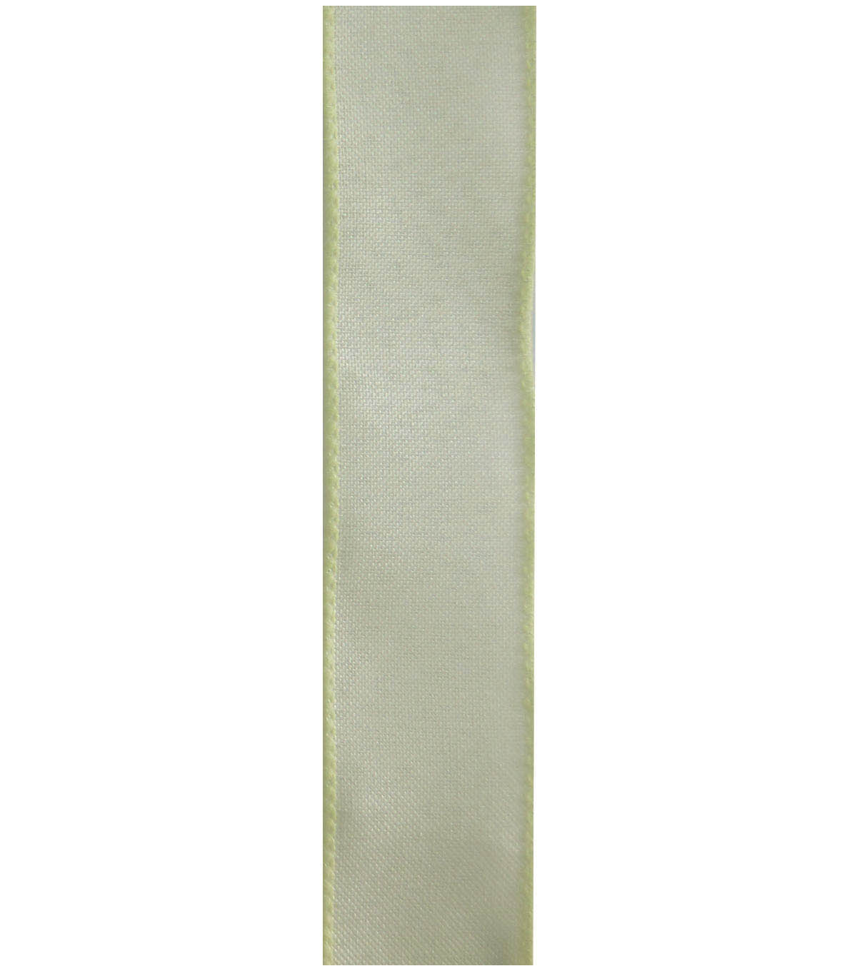 Decorative Ribbon 1.5\u0022 Solid Linen Ribbon-Ivory