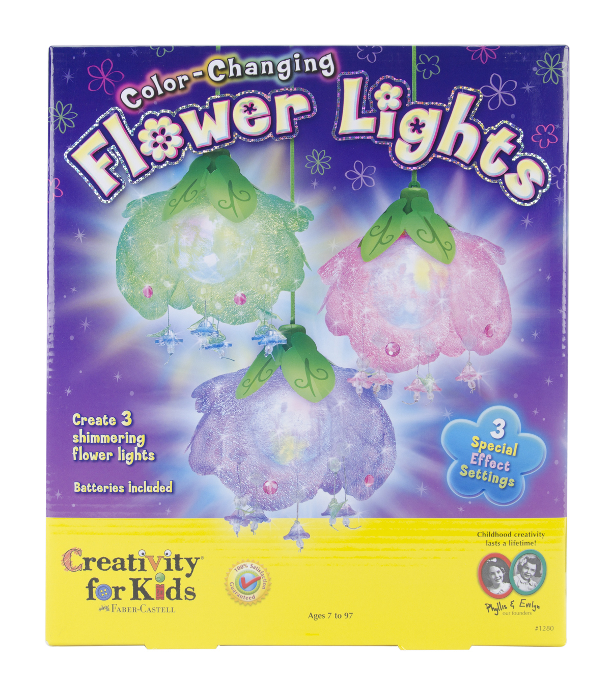 Creativity For Kids ColorChanging Flower Lights Kit