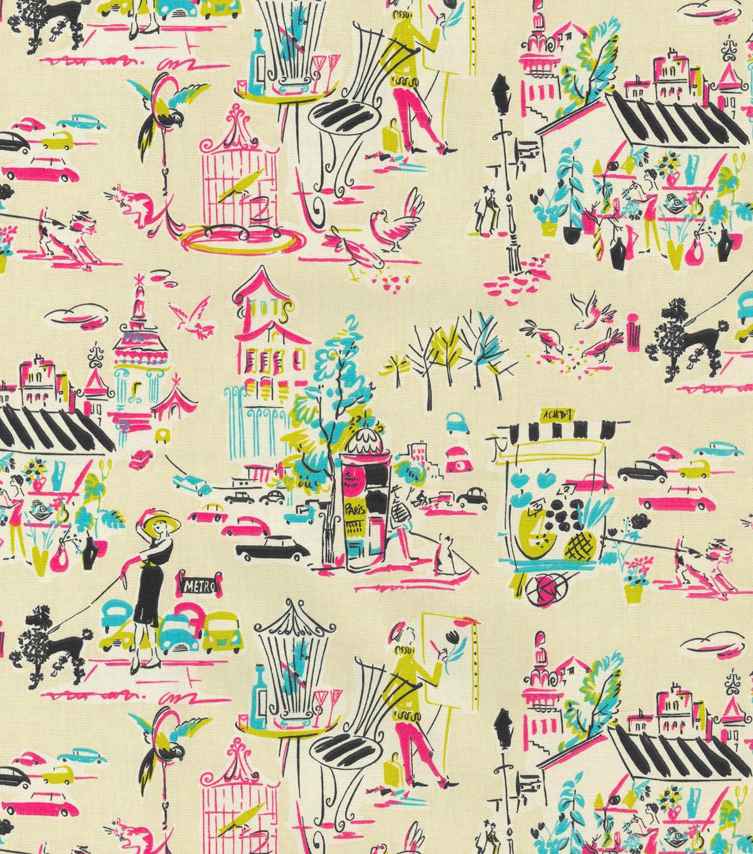 Waverly Multi Purpose Decor Fabric Ooh La Fiesta