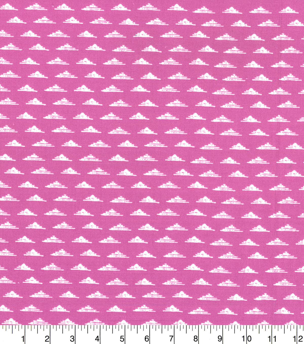 Quilter\u0027s Showcase Fabric -Triangle Geometric on Opera Mauve