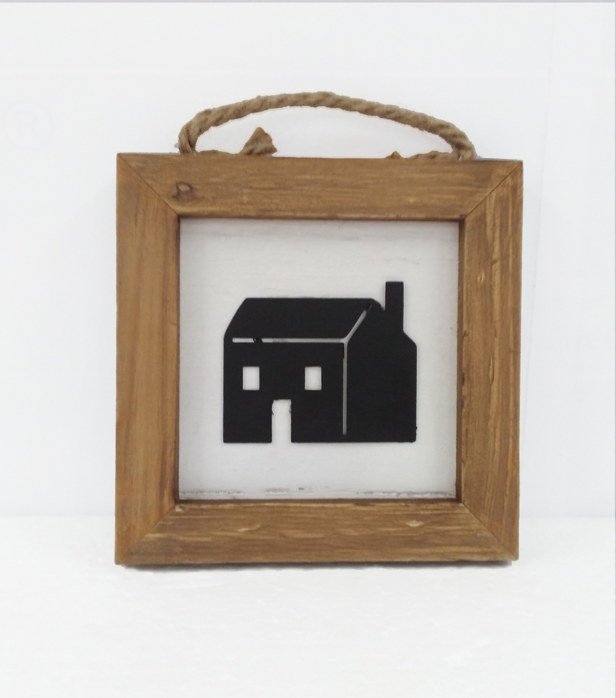 Simply Spring Framed Black House Wall Decor