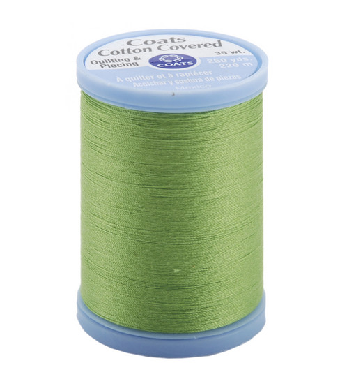 Coats & Clark Cotton Covered Quilting & Piecing Thread 250 Yards , 6840 Lime Green