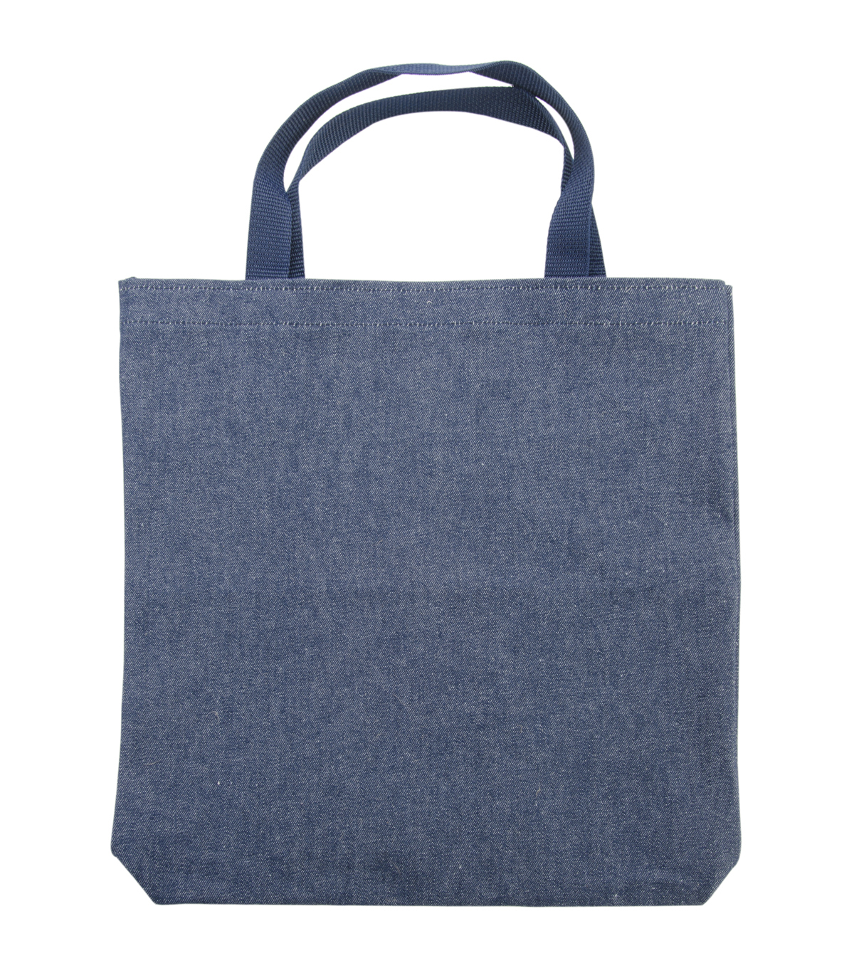 Medium Tote 13.5\u0022X13.5\u0022X2\u0022-Indigo Denim
